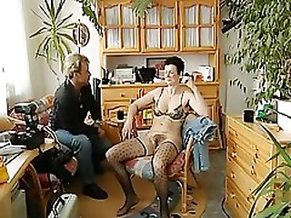 Mature German Blowjob