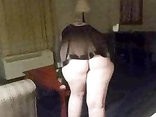 Fucking a chubby hooker in my hotel room