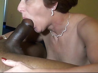 Married Milf loves her young BBC