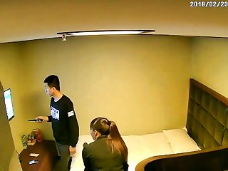 Chinese Young girl with hardcore fuck ip camera