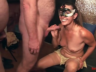 Glorious Matures On Swinger Lovemaking