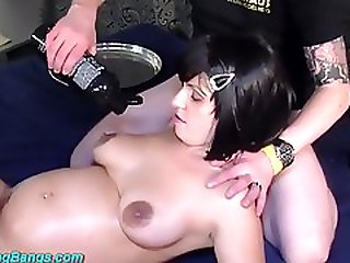 Old Freaks Fuck Pregnant Chick