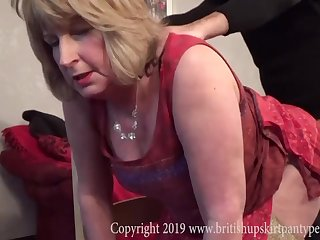 British Rosemary takes anal before cum swallow