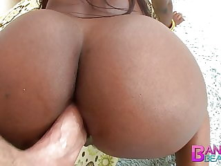Banging Beauties Doggystyle Anal Ebony Slut Sierra Banxxx