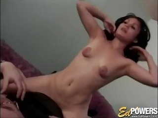Charming babe Daisy fed casting agent cum after banging