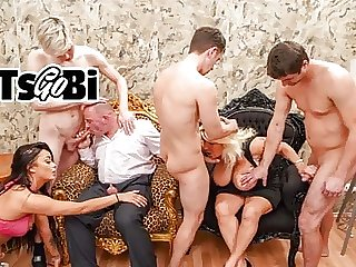 Rich Bi Couple Throw a Fucking Decadence Party
