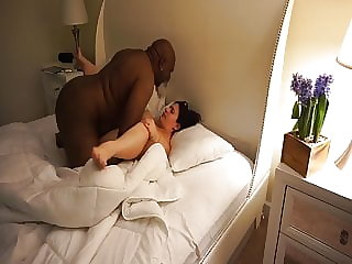 Hubby Walks in on Me Fucking BBC at the Porn House