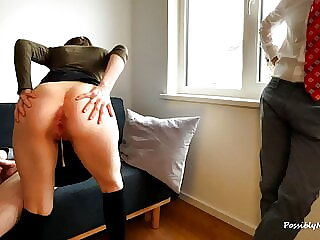 Wife Fucks Her Boss And Husband For More Pocket Money