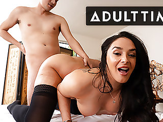 Stepson Fucked Me In The Ass At The Spa