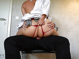 cute business woman in suit totally torn up - business-bitch