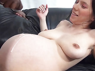pregnant teens first bbc interracial