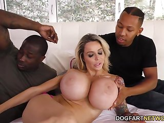 Busty Stepmom Danielle Derek Gets Fucked By Stepson's Black Friends