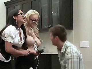 Hot Handjob Performed By A Blonde Babe I A Reality Show
