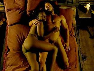 Zethu Dlomo Naked Episode from Black Sails On ScandalPlanet.Com