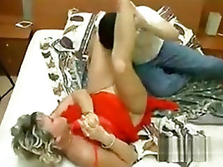Beautiful Horny Rhythmic Pantyhose Chick Secretly Screwed