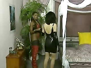 Classic german fetish movie - babes in boots galore