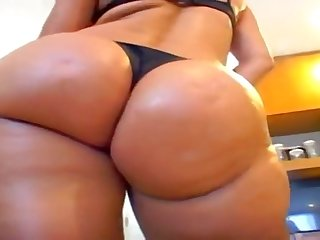 Sexy Brazilian milf with perfect huge ass gets big black cock