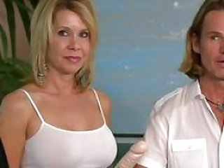 Swinger inexperienced couple is ready to push their boundaries in the Swing House adventure.