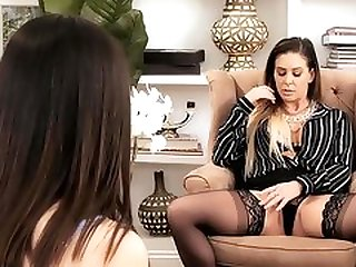 Psychotherapist Cherie DeVille Helps Her Patient Aria Lee With Sex Addiction