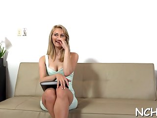 babe on a hot casting video feature