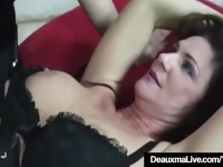 Cougar Deauxma Tied Up & Dominated By Mistress Sarah Blake!