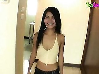 Petite Thai slut in super POV