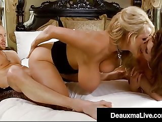 Big Titty Cougar Deauxma Does Milf Kelly Madison & Hubby!