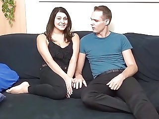 German BBW Teen July Johnson at No Condom Fandate Swallow