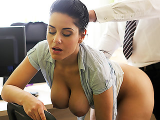 LOAN4K. Agent offers Alex Black copulation to get her loan...