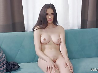 Stacey hot 18yo first time casting