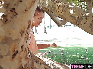 TEENFIDELITY Natalie Porkman Creampied After Hookuup