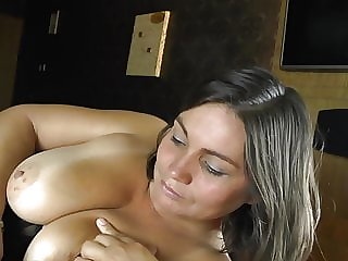 Chubby mom gets cock