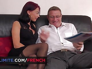English teacher getting fucked by her old student