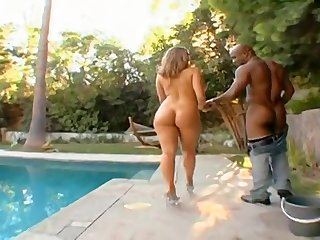 Brianna Love - Big White Wet Ass For Black Guy