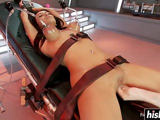 Breanne got drilled with different toys - breanne benson
