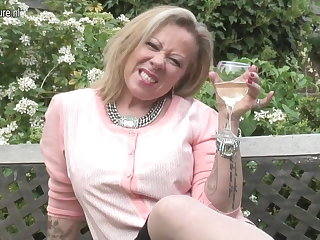 British inked mature mom needs a good fuck