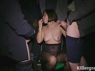 Killergram Jamie Rai on her debut dogging mission covered in cum