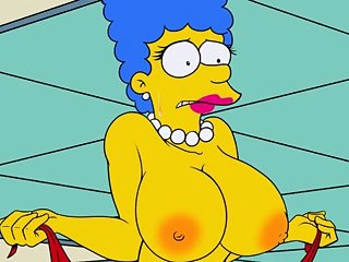 The Simpsons Large Marge