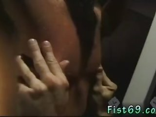 Gay fist extreme and man fists up to shoulder porn Scott, in restrain