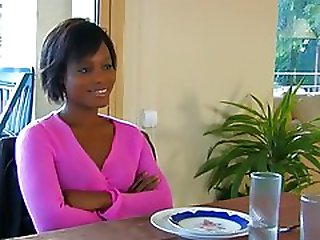Hot ebony escort fucks her client silly