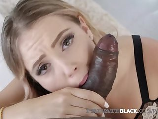 Private Black - Tiny Zoe Doll Cunt Crammed By Big Black Cock