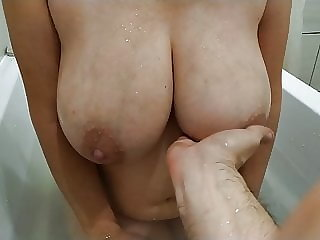 Big Natural Tits Of A Young Mom